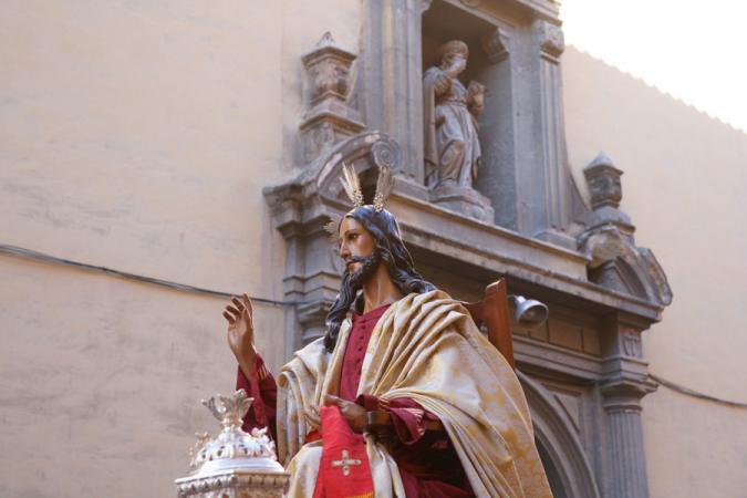 Cofradía Borriquilla Granada: Traslado de Nuestros Titulares a San Justo y Pastor en el 2012