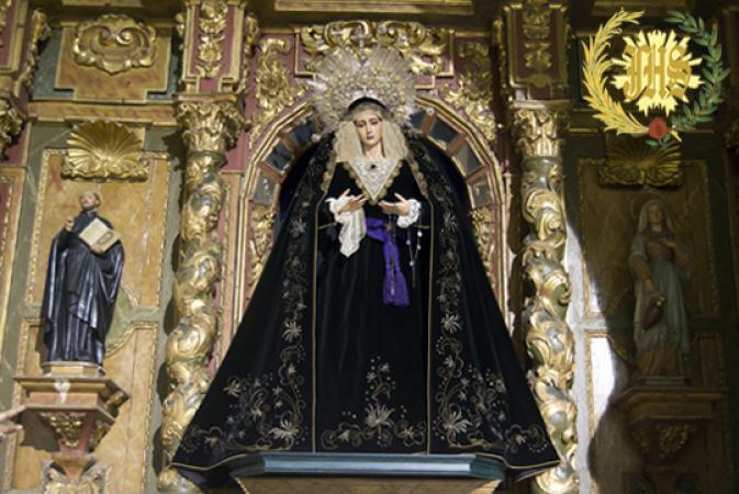 Cofradía Borriquilla Granada: NUESTRA SEÑORA DE LA PAZ EN EL MES DE LOS DIFUNTOS 2015