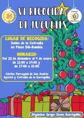 Cofradía Borriquilla Granada: VI RECOGIDA DE JUGUETES