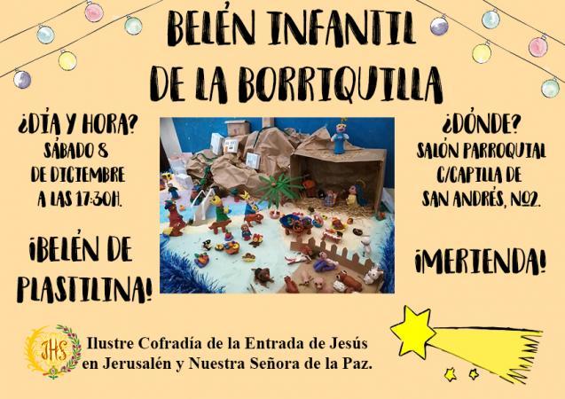 Cofradía Borriquilla Granada: BELÉN INFANTIL DE LA BORRIQUILLA