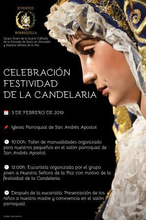 Cofradía Borriquilla Granada: CELEBRACIÓN DE LA FESTIVIDAD DE LA CANDELARIA