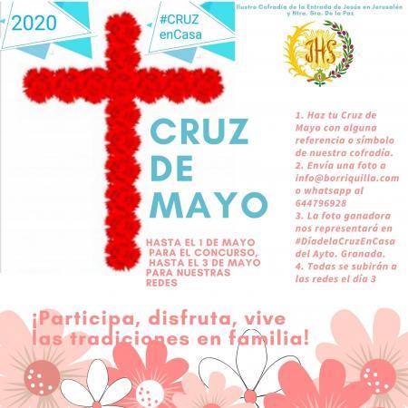 Cofradía Borriquilla Granada: #CRUZDEMAYOENCASA