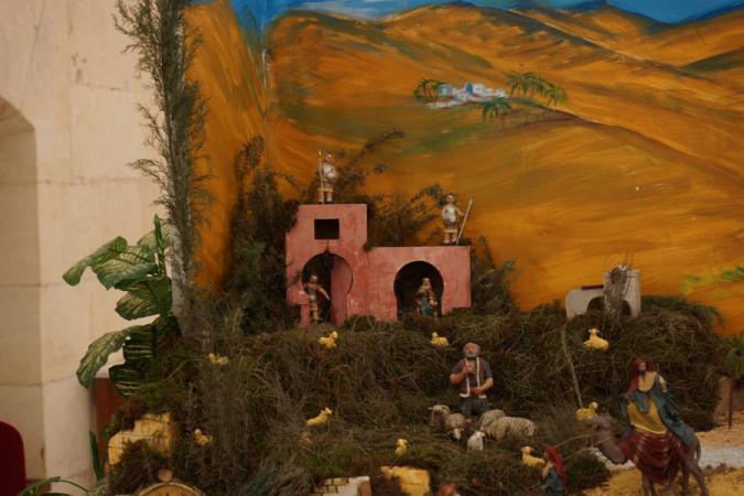Cofradía Borriquilla Granada: Belén de la Hermandad en el 2012