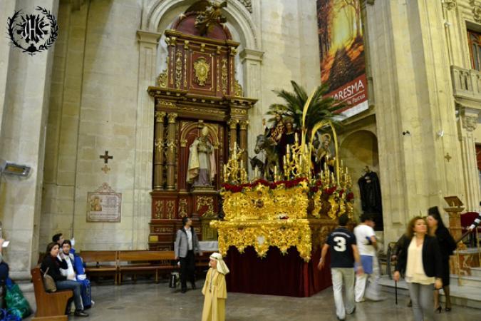 Cofradía Borriquilla Granada: DOMINGO DE RAMOS 2015
