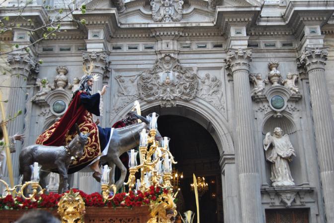 Cofradía Borriquilla Granada: Domingo de Ramos 2012