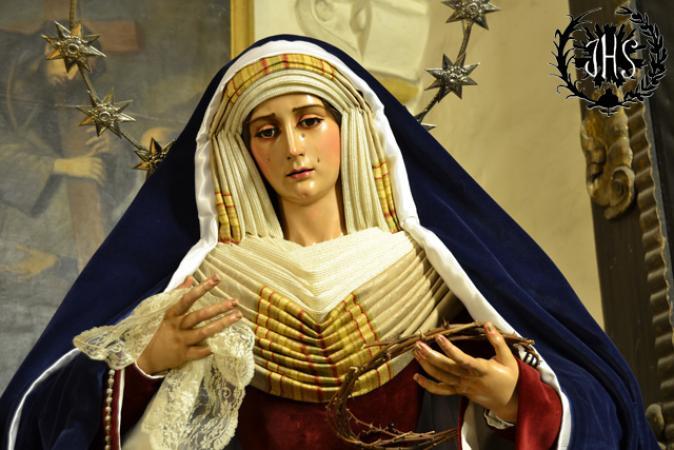 Cofradía Borriquilla Granada: NUESTRA SEÑORA DE PAZ VESTIDA DE HEBREA 2014