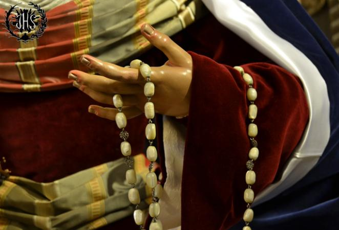 Cofradía Borriquilla Granada: NUESTRA SEÑORA DE LA PAZ DE HEBREA 2015