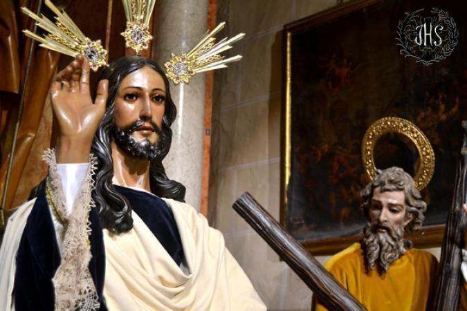 Cofradía Borriquilla Granada: JESÚS DE LA ENTRADA EN JERUSALÉN EN TIEMPO DE GLORIA. AÑO 2015