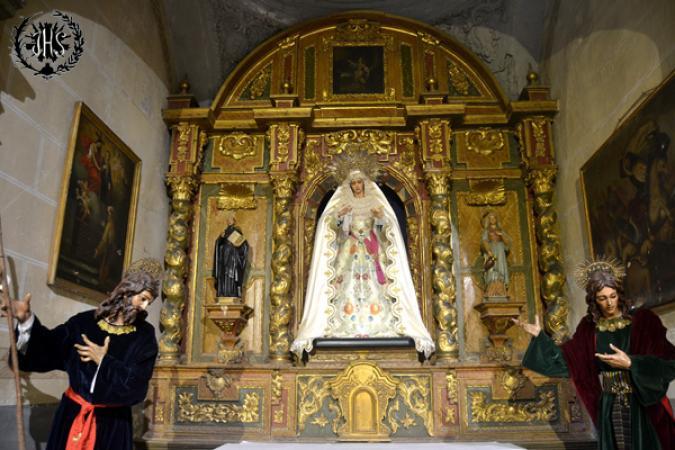 Cofradía Borriquilla Granada: NUESTRA SEÑORA DE LA PAZ EN TIEMPO DE GLORIA. AÑO 2015