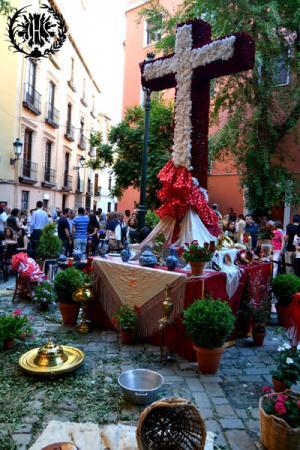 Cofradía Borriquilla Granada: CRUZ DE MAYO 2014
