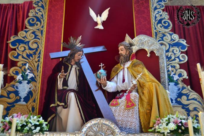 Cofradía Borriquilla Granada: PRIMER PREMIO EN EL CONCURSO DE ALTARES DE CORPUS 2015