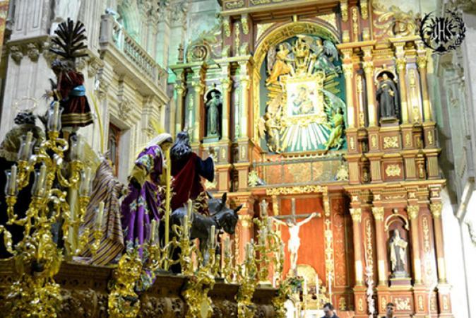 Cofradía Borriquilla Granada: RETRANQUEO 2015