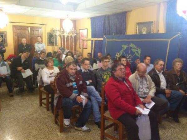 Cofradía Borriquilla Granada: Cabildo Inicio Curso 2012-2013