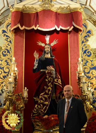 Cofradía Borriquilla Granada: NUESTRO HERMANO D. JOSÉ ANTONIO GÁMIZ MALAGÓN ELEGIDO HERMANO MAYOR ELECTO.
