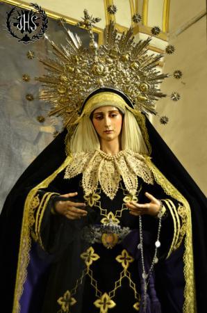 Cofradía Borriquilla Granada: NUESTRA SEÑORA DE LA PAZ DE LUTO 2014