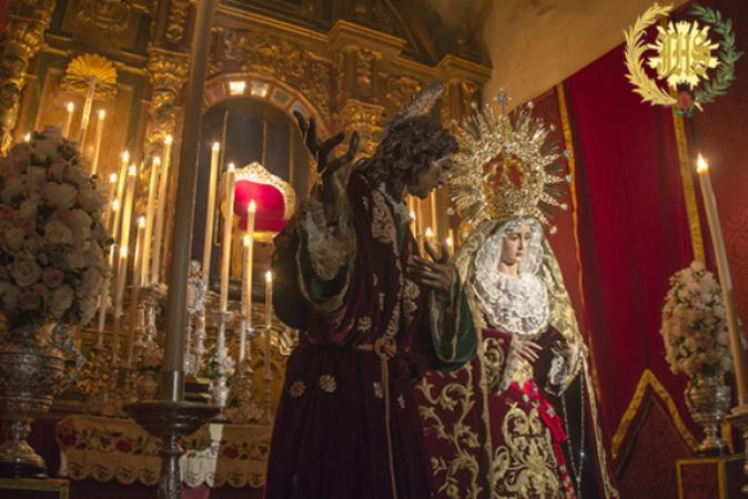 Cofradía Borriquilla Granada: BESAMANOS DE NUESTRA SEÑORA DE LA PAZ EN SU FESTIVIDAD 2016