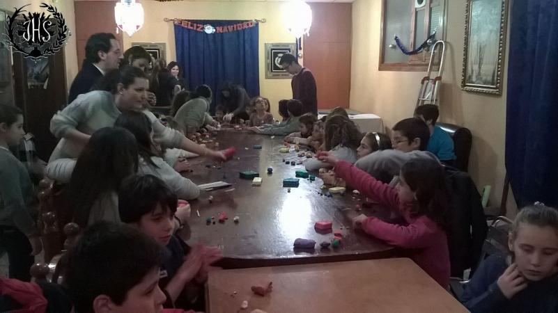 Cofradía Borriquilla Granada: BELÉN Y CONVIVENCIA INFANTIL