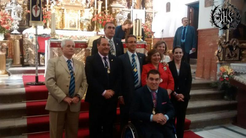 Cofradía Borriquilla Granada: PARTICIPACIÓN DE LA HERMANDAD EN LA CORONACIÓN CANÓNICA DE Mª STMA DE LA AMARGURA