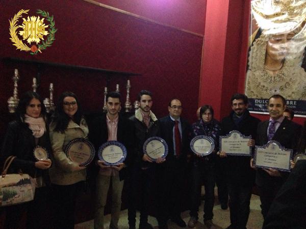 Cofradía Borriquilla Granada: ENTREGA DE PREMIOS DE LOS CONCURSOS DE BELENES 2015