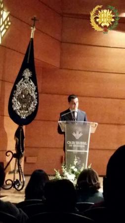 Cofradía Borriquilla Granada: PRESENTACIÓN DEL CARTEL 2016