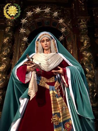 Cofradía Borriquilla Granada: NUESTRA SEÑORA DE LA PAZ HEBREA 2017.