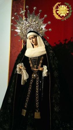 Cofradía Borriquilla Granada: NUESTRA SEÑORA DE LA PAZ LUTO 2017.