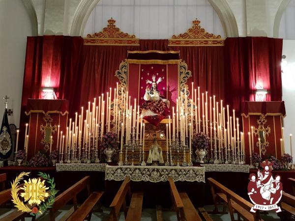Cofradía Borriquilla Granada: AGRADECIMIENTO Y CLAUSURA DEL PRIMER CENTENARIO DE LA HECHURA Y BENDICIÓN DE JESÚS DE LA ENTRADA EN JERUSALÉN