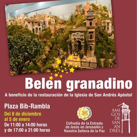 """Cofradía Borriquilla Granada: """"BELÉN GRANADINO"""""""