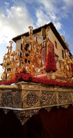 Cofradía Borriquilla Granada: SOLEMNE PROCESIÓN DE SAN CECILIO, PATRÓN DE GRANADA Y SU ARCHIDIÓCESIS 2019