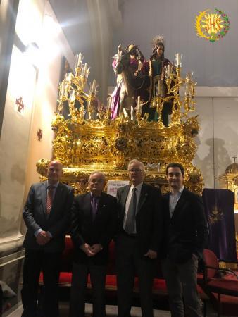 Cofradía Borriquilla Granada: NUESTRO AYER MÁS PRESENTE QUE NUNCA: LA BORRIQUILLA DE LOS AÑOS 70 A LOS 90