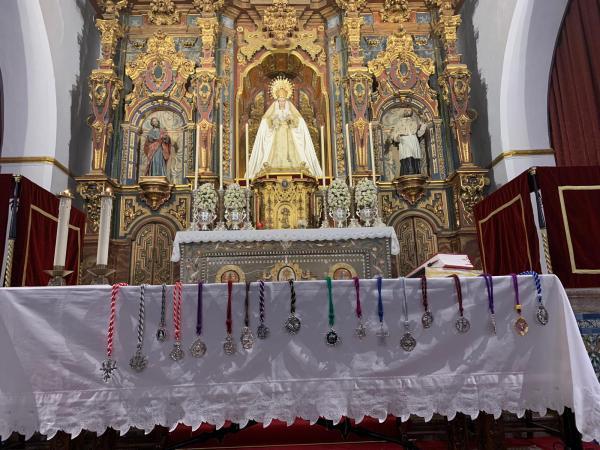 Cofradía Borriquilla Granada: I NOCHE DE MARCHA COFRADE