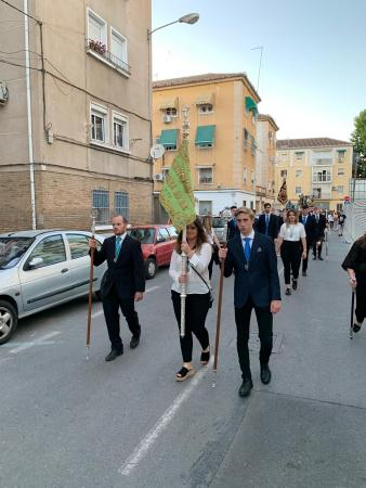 Cofradía Borriquilla Granada: I VÍA LUCIS DE LA JUVENTUD COFRADE