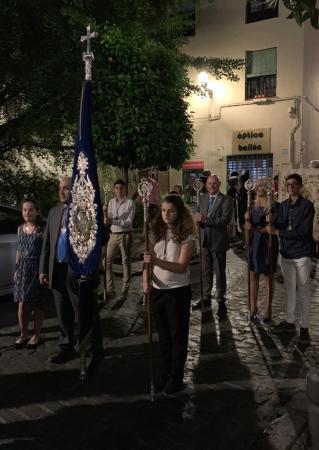 Cofradía Borriquilla Granada: PROCESIÓN DE LA VIRGEN DEL PERPETUO SOCORRO