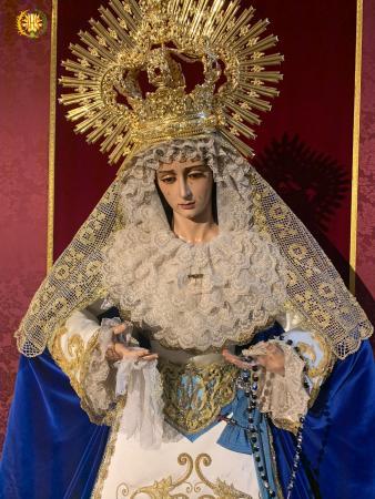 Cofradía Borriquilla Granada: SEÑORA DEL ADVIENTO. VIRGEN INMACULADA