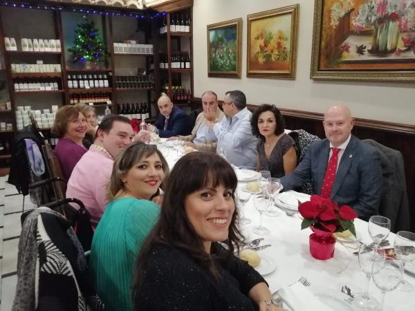 Cofradía Borriquilla Granada: CENA DE NAVIDAD LA BORRIQUILLA 2019