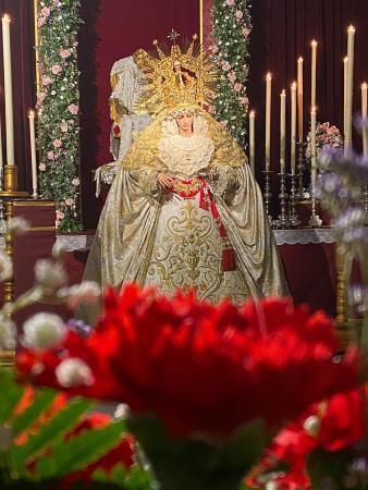 Cofradía Borriquilla Granada: EMPEZAMOS EL MES MAYO: MES DE LA VIRGEN, DÍA DE LA MADRE Y CULTOS MENSUALES