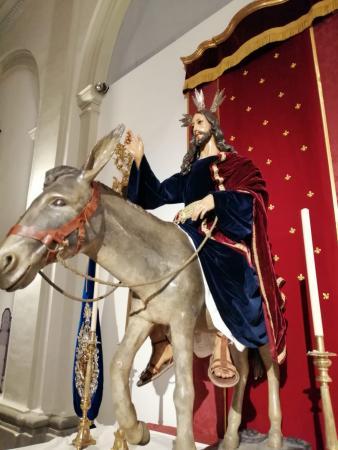 Cofradía Borriquilla Granada: JESÚS DE LA ENTRADA EN JERUSALÉN EN TIEMPO DE PASCUA
