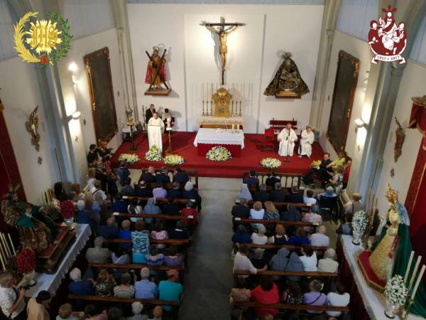 Cofradía Borriquilla Granada: DIECIOCHO AÑOS DESPUÉS SAN ANDRÉS REABRE SUS PUERTAS