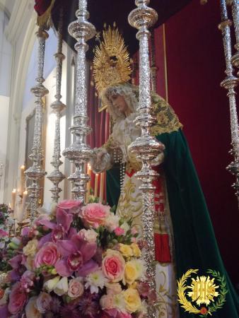 Cofradía Borriquilla Granada: SOLEMNE FUNCIÓN Y BESAMANOS DE NUESTRA SEÑORA DE LA PAZ