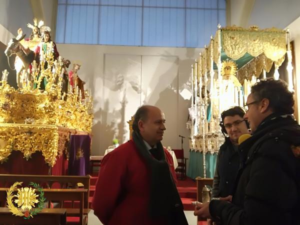 Cofradía Borriquilla Granada: ENTREGA DE LA LLAVE A SANTA MARÍA DE LA ALHAMBRA
