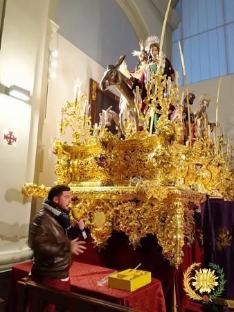 Cofradía Borriquilla Granada: SER COFRADE DESDE LA IGLESIA PARROQUIAL DE SAN ANDRÉS APÓSTOL