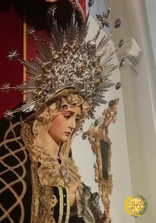 Cofradía Borriquilla Granada: NTRA. SRA. DE LA PAZ LUTO 2018