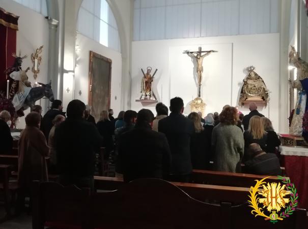 Cofradía Borriquilla Granada: Triduo en Honor a San Andrés Apostol y Función Principal 2018