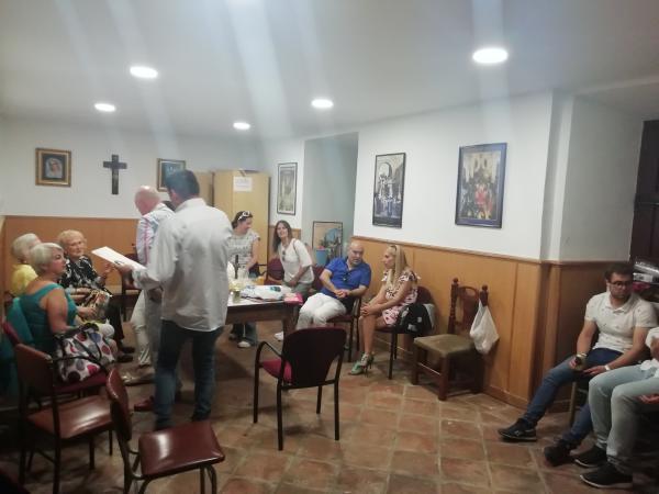 Cofradía Borriquilla Granada: CONVIVENCIA TRAS LOS CULTOS DE ACCIÓN DE GRACIAS - JUNIO