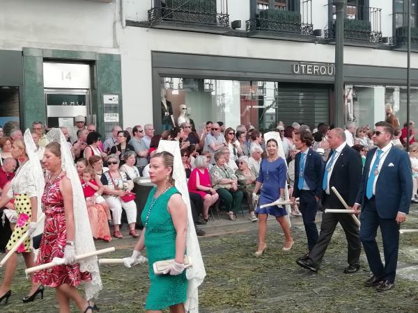 Cofradía Borriquilla Granada: CORPUS CHRISTI 2019