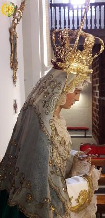 """Cofradía Borriquilla Granada: """"GLORIAS DE MARÍA: NTRA. SRA. DE LA PAZ"""""""