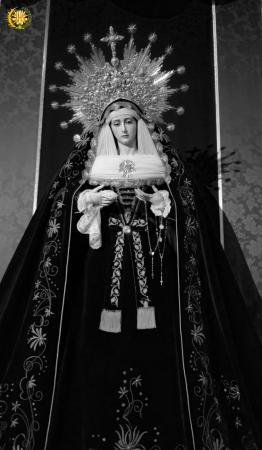 Cofradía Borriquilla Granada: NTRA. SRA. DE LA PAZ DE LUTO 2019