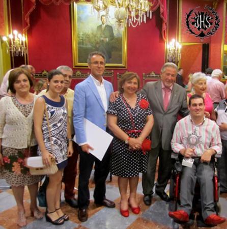 Cofradía Borriquilla Granada: ENTREGA DE PREMIOS A LOS ALTARES DE CORPUS 2015