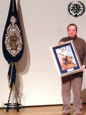 Cofradía Borriquilla Granada: Presentación del cartel 2014