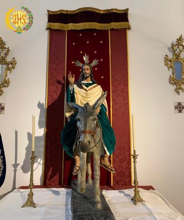 """Cofradía Borriquilla Granada: """"LAS GLORIAS DE MARIA 2020: JESÚS DE LA ENTRADA EN JERUSALÉN"""""""